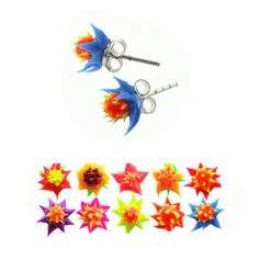 Hibiscus Flower Silicone Ear Stud