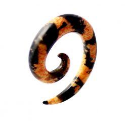 Cheetah Patterns Ear Expander-0