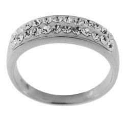 Fashion Dazzling Multi Crystals Finger Ring
